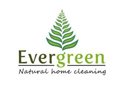 Evergreen Natural Home Cleaning Logo