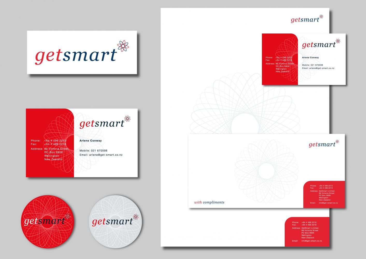 Getsmart Business Stationery