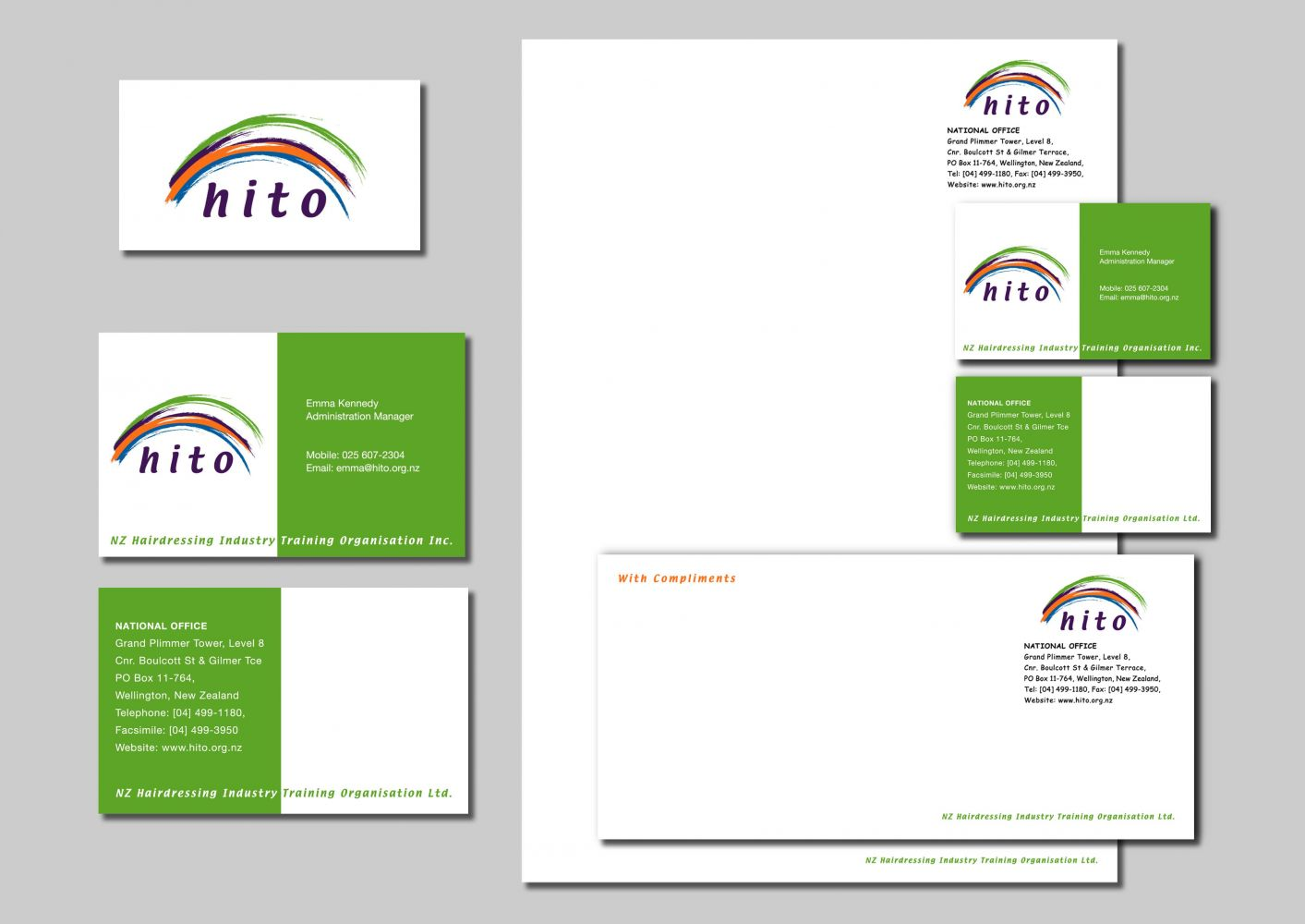 Hair & Beauty Industry Training organisation Business Stationery