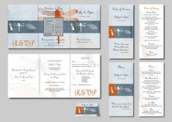 Wedding Stationery Sally & Tyler