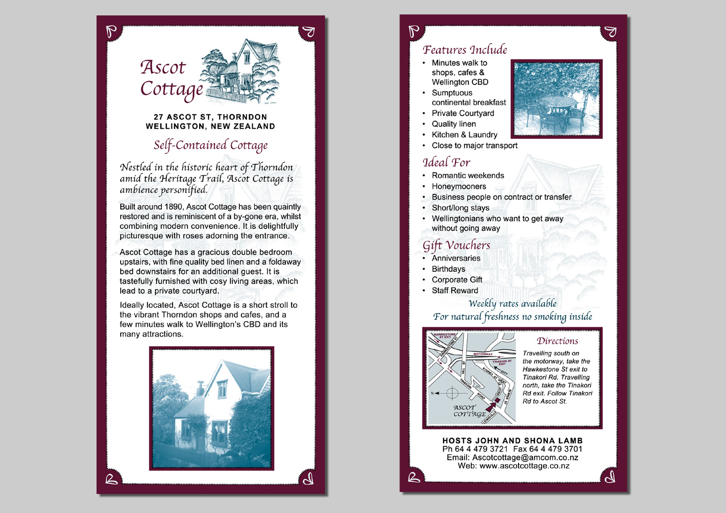 Ascot Cottage Flyer