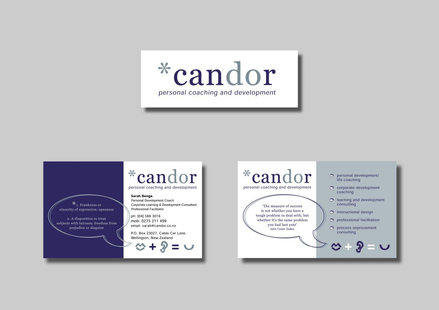 Candor Business Stationery