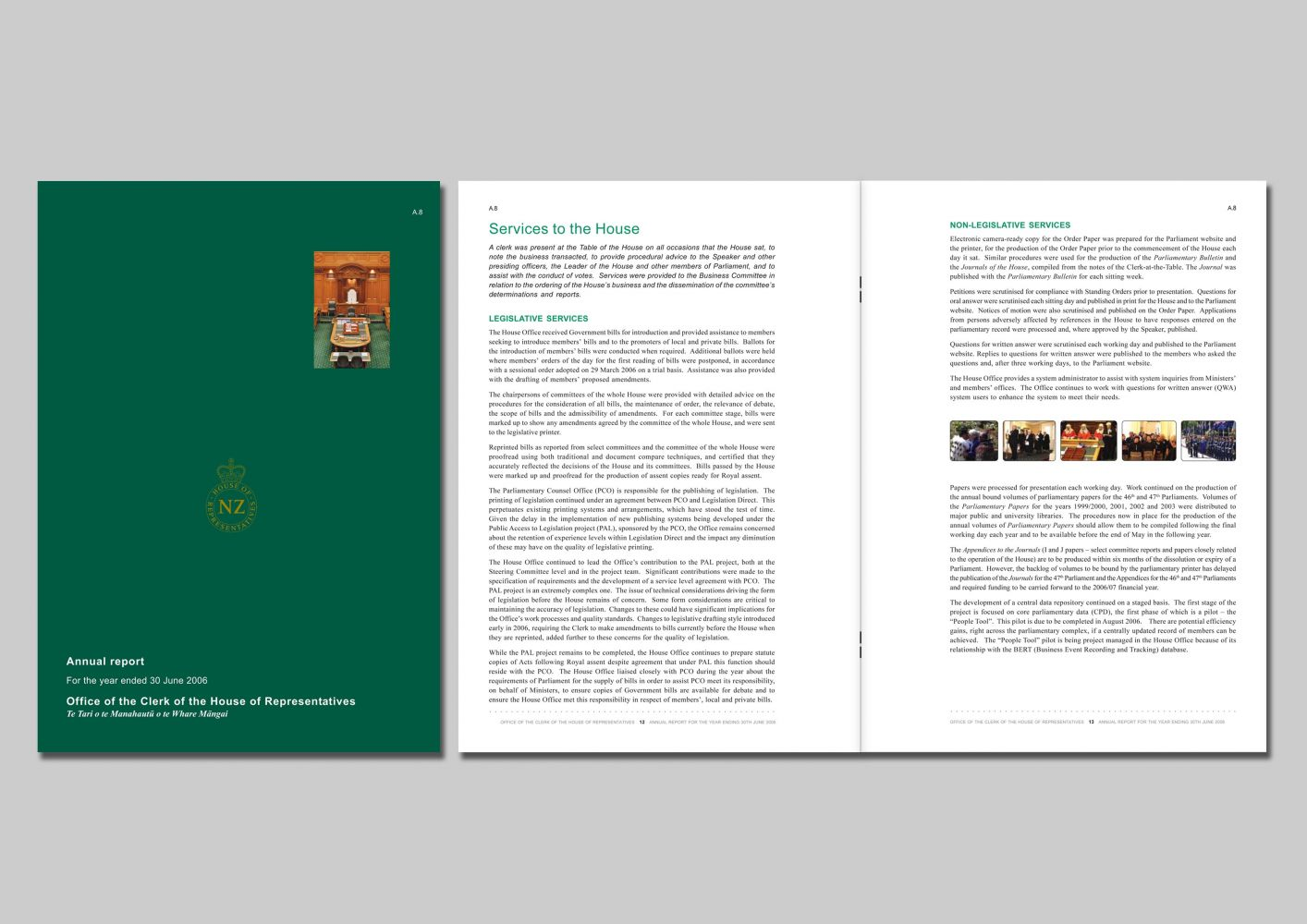 Office of the House of Representatives Annual Report