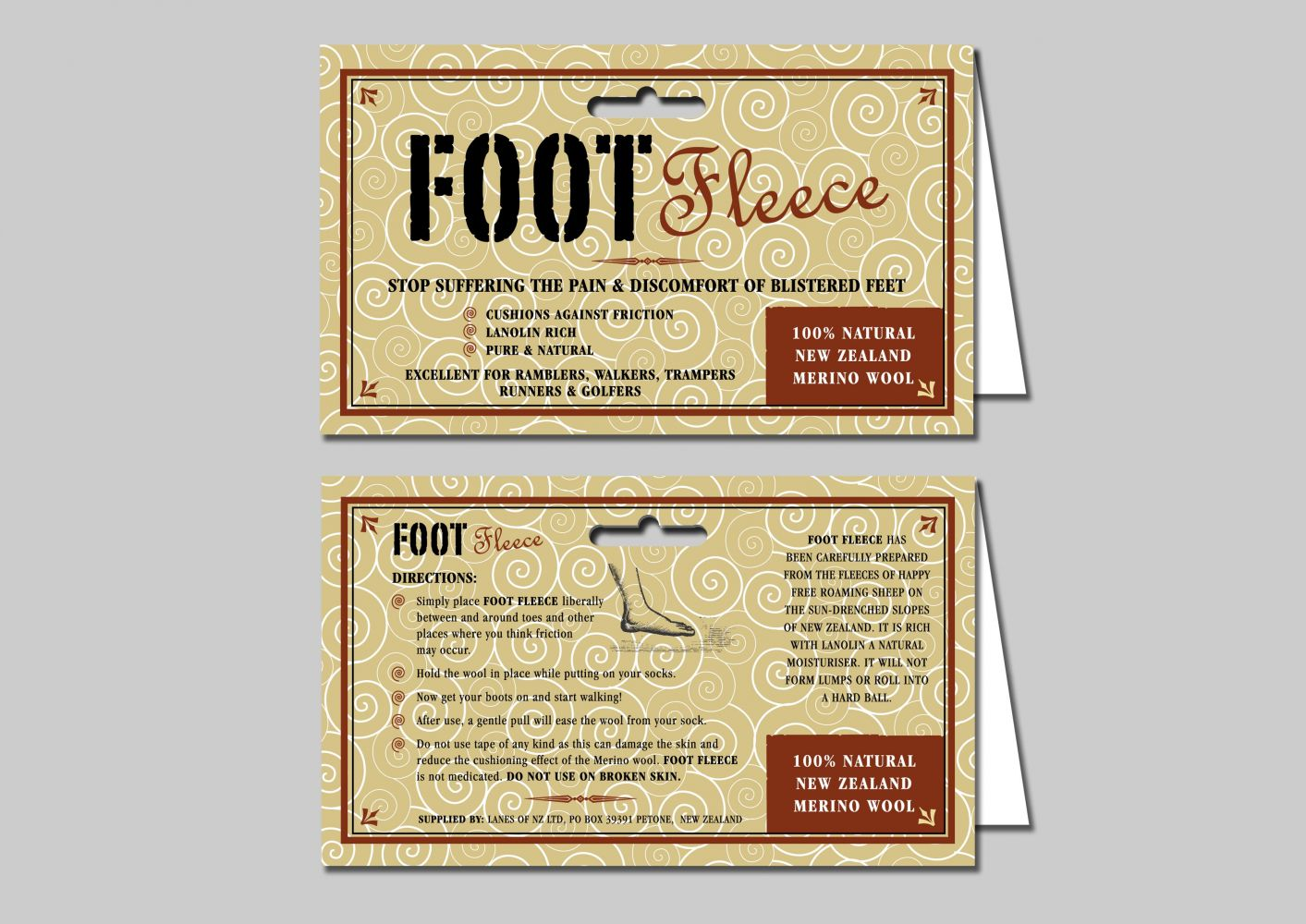 Footfleece Packaging