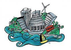 Zigsaw Wellington Cityscape