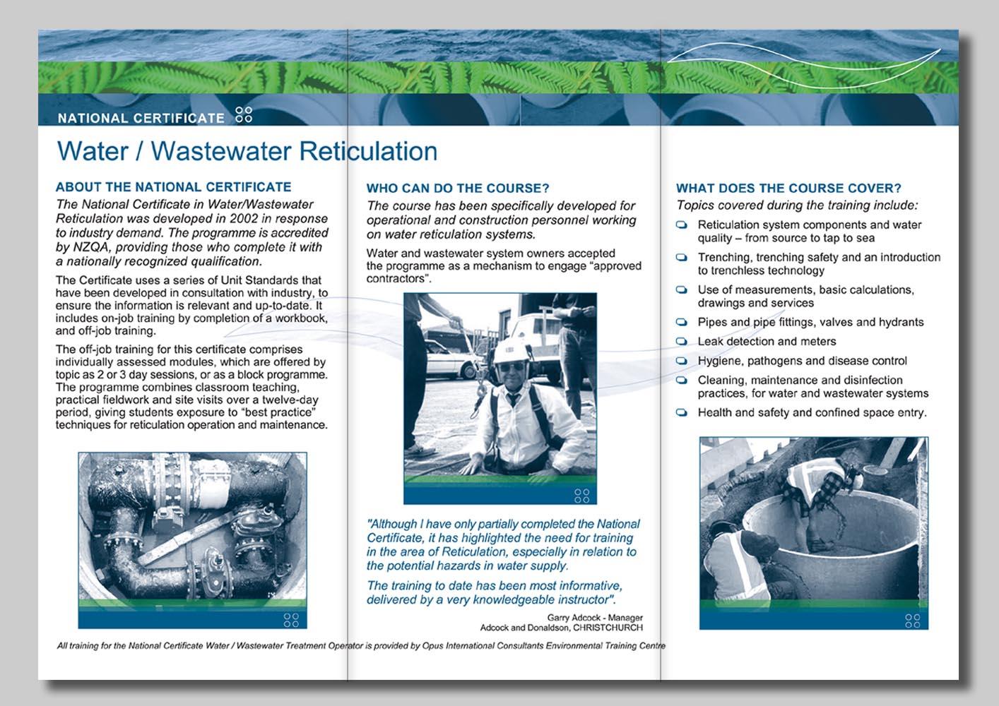 NZWETA Reticulation Brochure