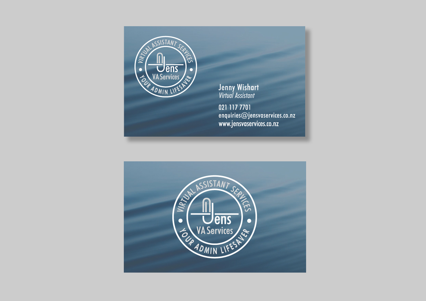 Jens Va Services Business Card